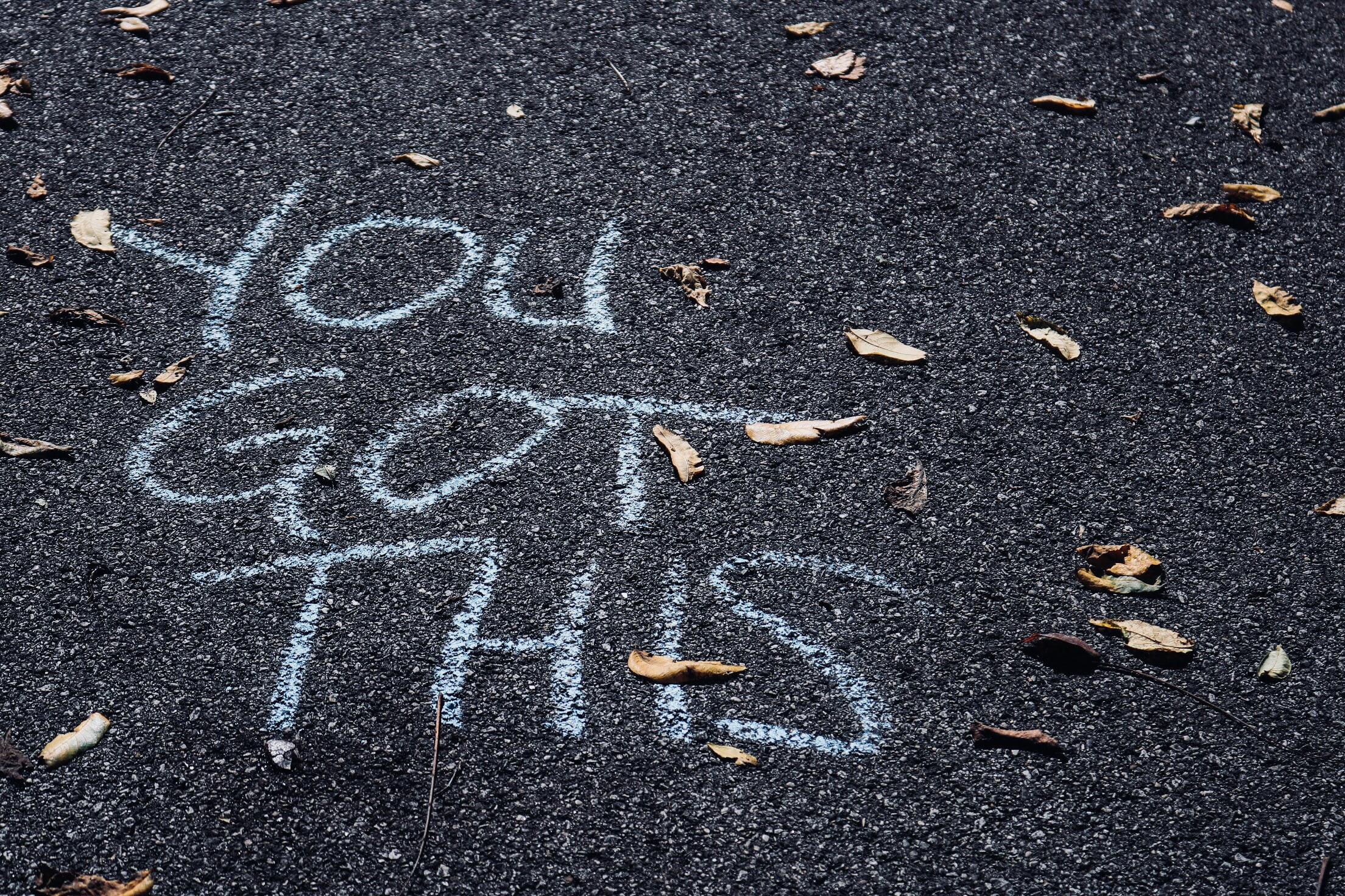 You Got This written on a street. Message of confidence and morale.