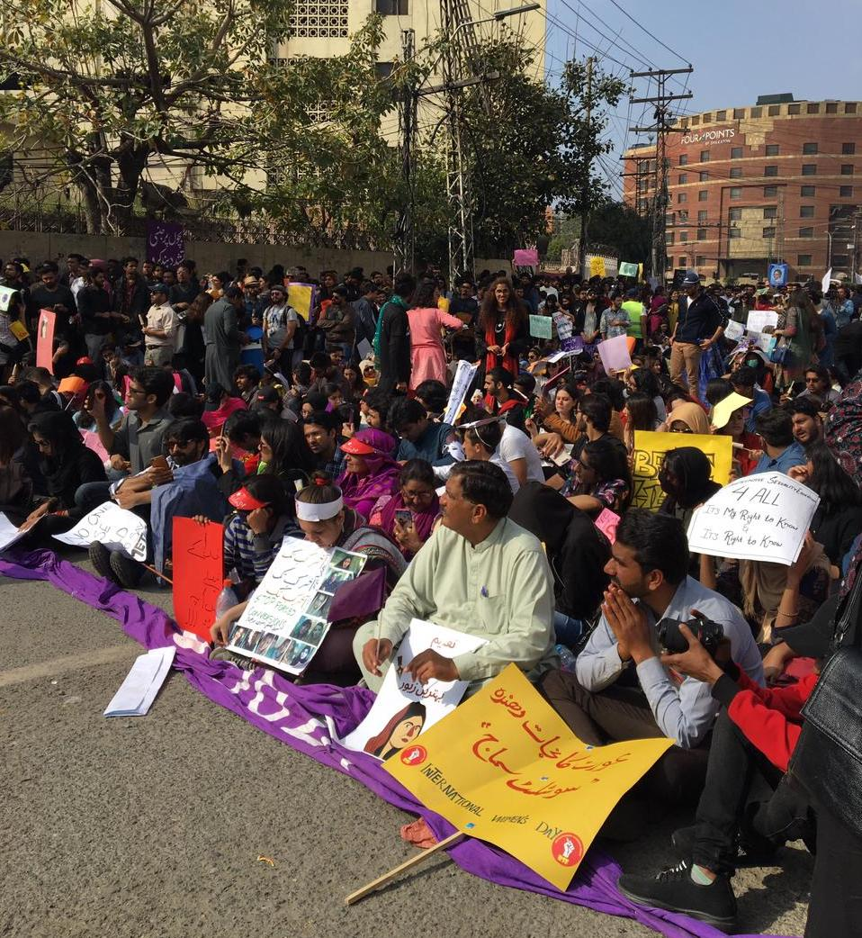Aurat march (feminist movement) in Pakistan